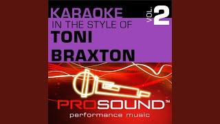 Spanish Guitar (Karaoke Instrumental Track) (In the style of Toni Braxton)