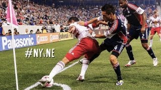 HIGHLIGHTS: NY Red bulls vs. NE Revolution | Oct. 5, 2013