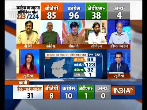 India TV Final Opinion Poll on Karnataka Elections (Full) Part 2