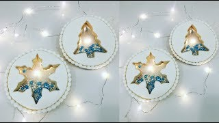 Cake decorating tutorials | STAINED GLASS CHRISTMAS COOKIES | Sugarella Sweets