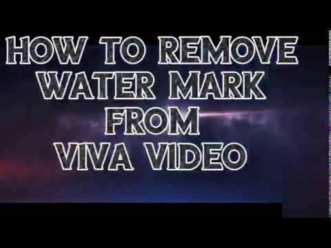How To Remove Water Mark From Viva Video //Nishant Tech