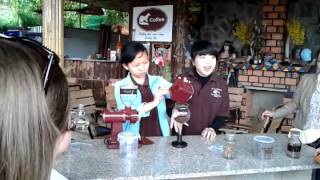 weasel coffee farm tour in dalat by MIMOSATRAVEL on 17th/Oct
