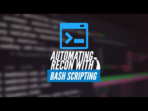 Automating Recon With Bash Scripting