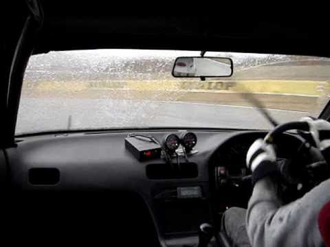 FSW 本コース WET  Nissan Silvia S13 SR20DET (510PS)