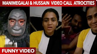 Manimegalai & Hussain Ultimate Video call | Vera Level comedy | Funny Video | WeTalkiess