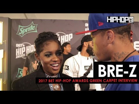 "BRE-Z Talks Her Upcoming Album, BET's ""TALES"", & More (2017 BET Hip-Hop Awards)"