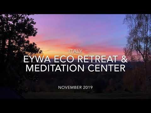 Как проходит ретрит в Eywa Eco Retreat & Meditation Center, Италия. Расписание на 2020👇🏻