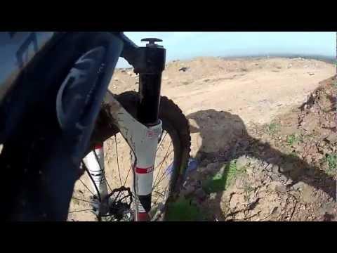 Riding down Mount Judd Nuneaton