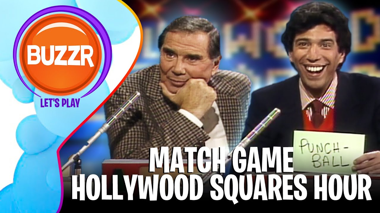 """STAY TUNED: BUZZR Debuts """"Match Game-Hollywood Squares Hour"""" With"""