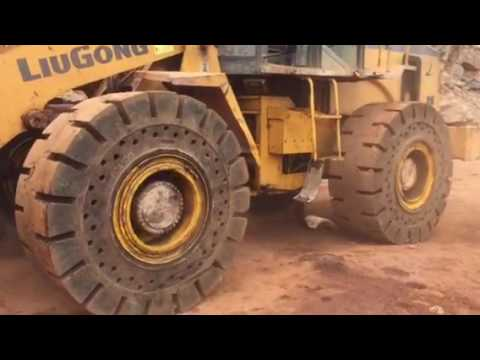 SOLIDO  OTR TYRES  FOR MINING APPLICATIONS - INDUSTRIAL RUBBER COMPANY - INDIA