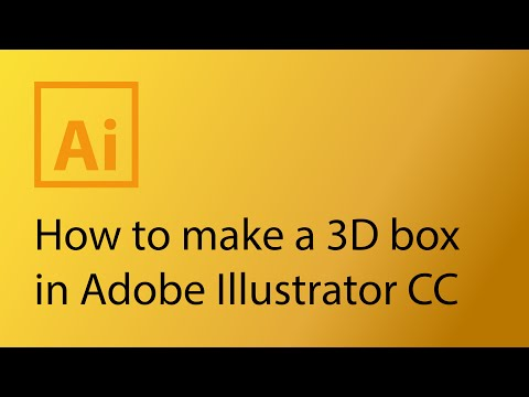 How to make a 3D box package in Adobe Illustrator CS6 Mp3