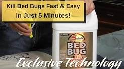 Kill Bed Bugs Fast & Easy! Harris 5 Minute Bed Bug Killer - Gold Label Pro Formula