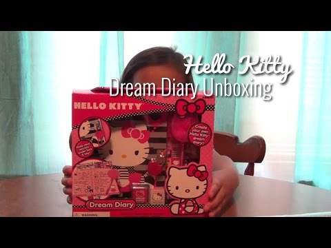 Hello Kitty Dream Diary | Unboxing