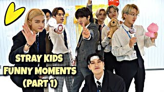 Stray Kids Funny Moments (Part 1)
