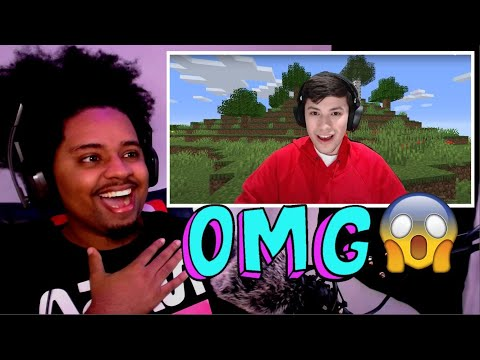 Minecraft, But If You Laugh You Lose…    REACTION 😂😂