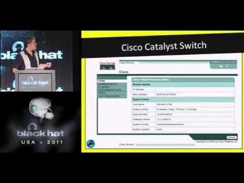 BlackHat 2011 - Corporate Espionage for Dummies: The Hidden Threat of Embedded Web Servers