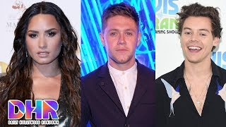 Demi Lovato's Criticized for Not Revealing Sexuality-Niall Horan & Harry Styles Reunite (DHR)