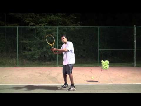 Tennis Stance is explained in Tamil