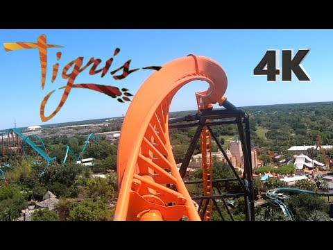 Exclusive Look at Tigris! POV On Ride!