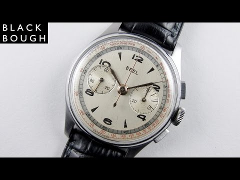 Ebel 'Lemania 27' vintage chronograph wristwatch, circa 1950