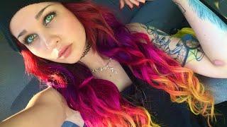 starburst  hair