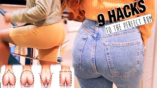 9 HACKS TO THE PERFECT LOOKING BUM FOR YOUR BUTT SHAPE