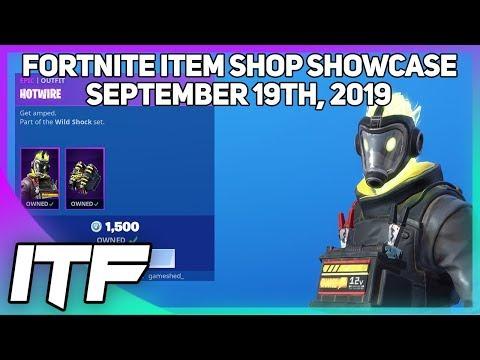 Fortnite Item Shop *NEW* HOTWIRE SKIN SET! [September 19th, 2019] (Fortnite Battle Royale)