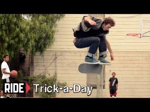 HowTo Skateboarding: Fakie Hardflip With Brian Downey