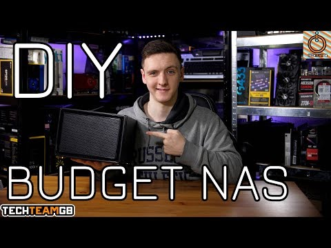 Budget DIY NAS Build & Setup Guide