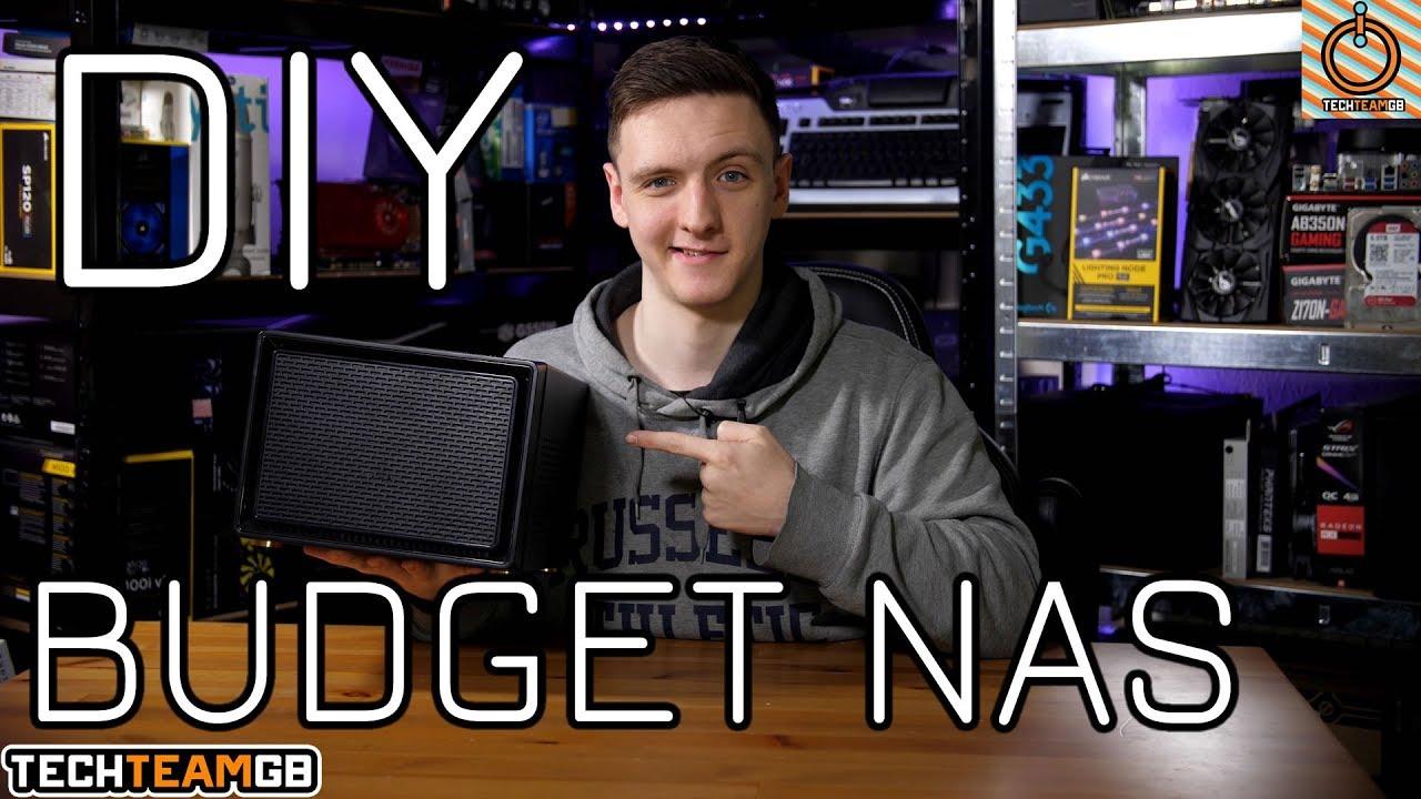 Budget DIY NAS Build & Setup Guide