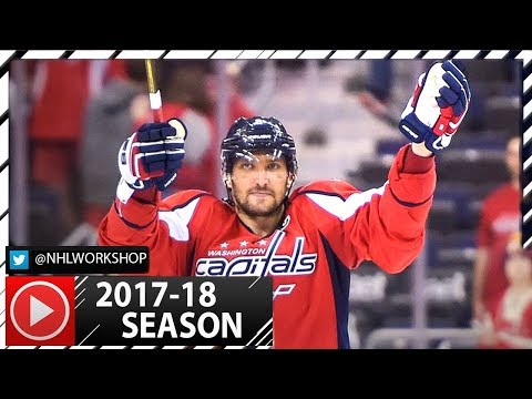 Alex Ovechkin Hat Trick vs Montreal Canadiens. NHL Highlights. October 7th, 2017. (HD)