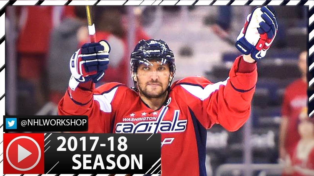 Alex Ovechkin Hat Trick vs Montreal Canadiens. NHL Highlights. October 7th 0dd8f61c0a4