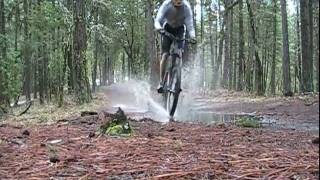 Downhill Mtn. Biking - Ashland, OR