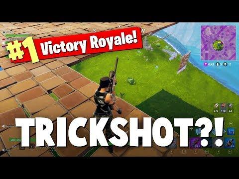TRICKSHOT FINAL KILL!? - FORTNITE BATTLE ROYALE