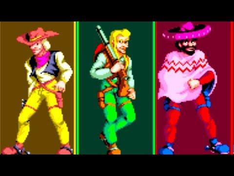 sunset-riders-(arcade)-all-bosses-(no-damage)