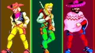 Sunset Riders (Arcade) All Bosses (No Damage)