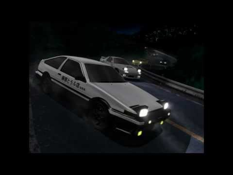 Initial D - Mega Mix (HD) - Twitch.tv/chaver28