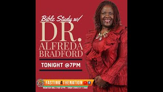 "Bible Study w/ Dr. Alfreda B. | ""A Royal Mess Up"""