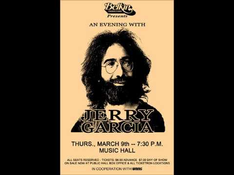 Jerry Garcia Band 3 9 78 - Cleveland Music Hall, Cleveland, OH