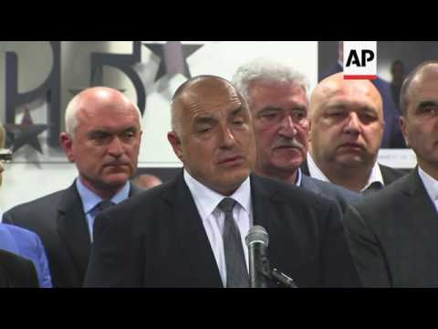 Bulgaria's centre-right party ready to form govt