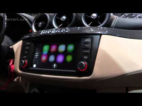 FF and Apple CarPlay   Ferrari world première