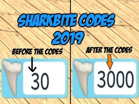Shark Bite Codes 2019 Roblox List | StrucidCodes.com