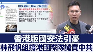 港版國安法引憂 林飛帆:組撐港國際隊 新唐人亞太電視 20200524