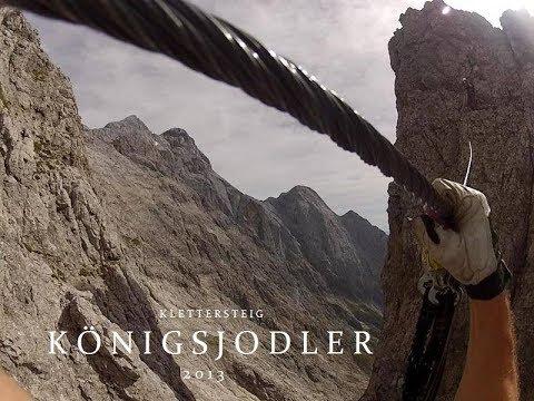 Klettersteig Hochkönig : Königsjodler gopro hochkönig klettersteig berchtesgadener alpen