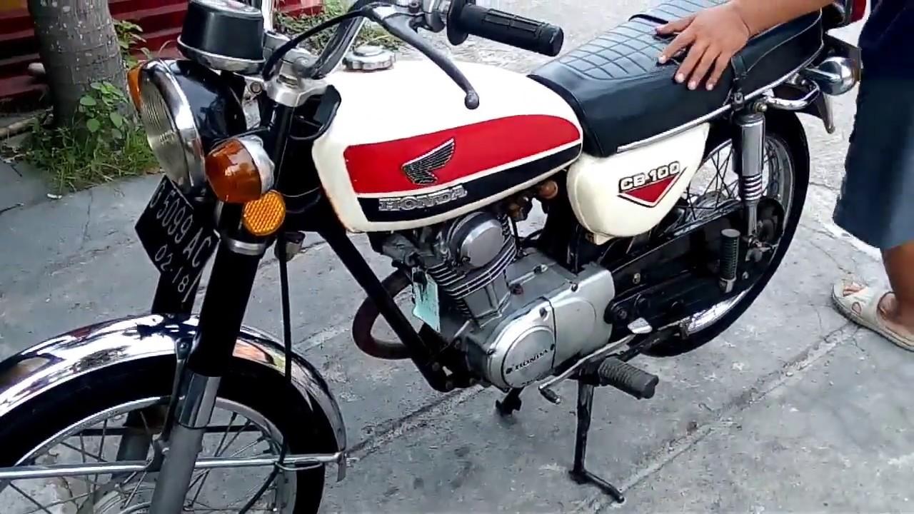 Cmg Indahnya Honda Cb 100 Gelatik 73