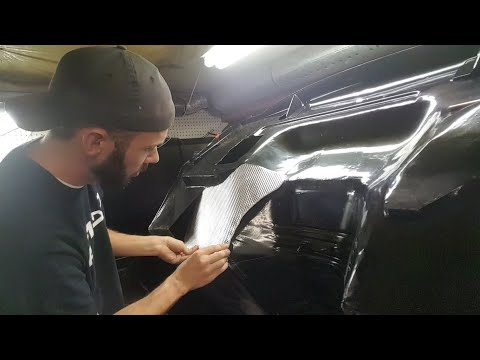 Firewall heat shield & cab mount  EP43 Ford F100 body swap restomod dropped