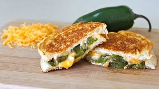 Jalapeño Popper Grilled Cheese Sandwich | Cooking