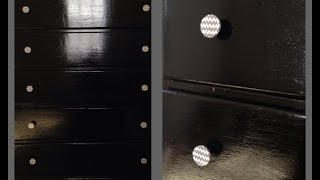 Diy Grey& White Chevron Dresser Knobs