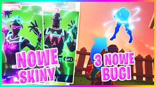 3 BUGS ON THE NEW MAP! + NEW SKINS-Fortnite Battle Royale