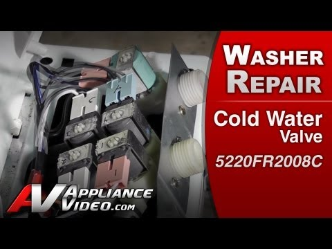 Cold Water Valve - Washer Repair (LG # 5220FR2008C Replacement Part) - 동영상